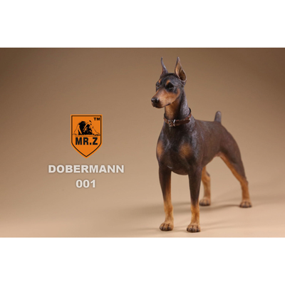Chien German Doberman (Marron)