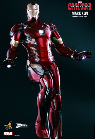 Captain America : Civil War - Iron Man Mark XLVI Power Pose