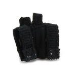 Double 9mm Mag Pouch (Black)