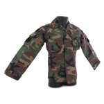 US Navy Modified Rip Stop BDU Jacket (Woodland)