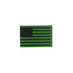 Patch drapeau Etats-Unis (Vert)