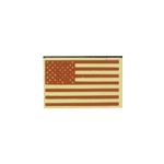 Patch drapeau Etats-Unis (Désert)