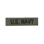 US Navy Tab (Olive Drab)