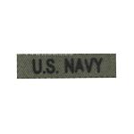 Bande patronymique US Navy (Olive Drab)