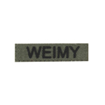 Bande patronymique Weimy (Olive Drab)