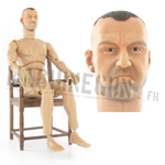 USMC RCT Nude body w/ headsculpt Mc Knight