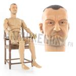 Figurine nue USMC RCT avec tête Mc Knight