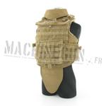 Veste d'assault Spartan II avec plaques et bande patronimique McKnight