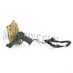 M9 pistol w/ SDS pistol lanyard & pouch