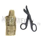 Black scissor w/ modular tan pouch