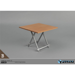 Table pliante (Marron)