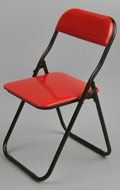 Folding Chair (Red)