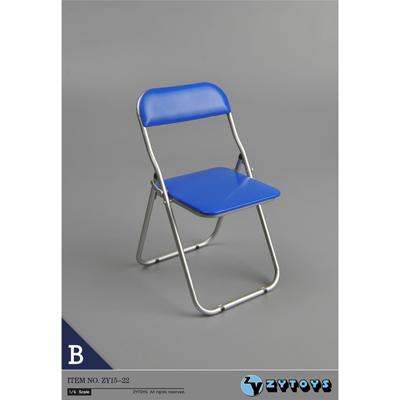 chaise pliante bleu machinegun. Black Bedroom Furniture Sets. Home Design Ideas