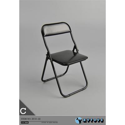 chaise pliante noir machinegun. Black Bedroom Furniture Sets. Home Design Ideas