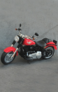 HD Type Motorcycle (Red)