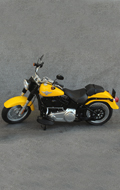HD Type Motorcycle (Yellow)