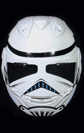 Motorcycle Helmet (White)