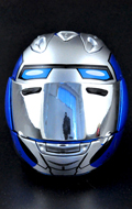 Motorcycle Helmet (Blue)