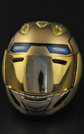 Motorcycle Helmet (Gold)