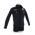 Long Sleeve Uniform Shirt Badge & Name Tag