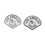 LOS ANGELES POLICE BICYCLE Patches