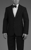 Retro Gentleman Suit Set (Black)