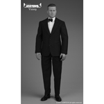 Set vêtements Retro Gentleman Suit (Noir)