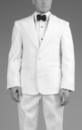 Set vêtements Retro Gentleman Suit (Blanc)