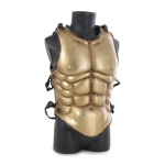 Muscle Body Armor Cuirass (Gold)