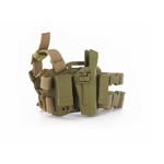 CQC desert camo holster with Colt 45 magazine pouches