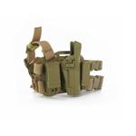 Holster CQC sable avec deux compartiment pour chargeurs Colt 45