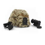 LWH helmet camo w/ JVN (Desert Marpat)