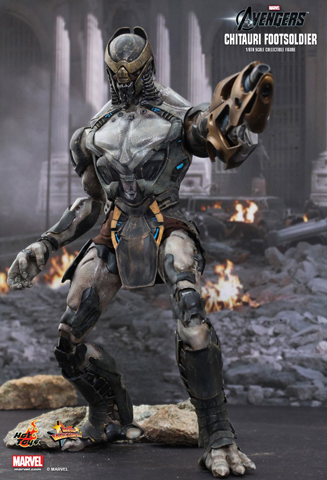 The Avengers - Chitauri Footsoldier