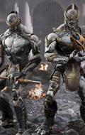 The Avengers - Chitauri Footsoldier & Commander Pack