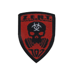 Patch d'épaule ZERT (Rouge)