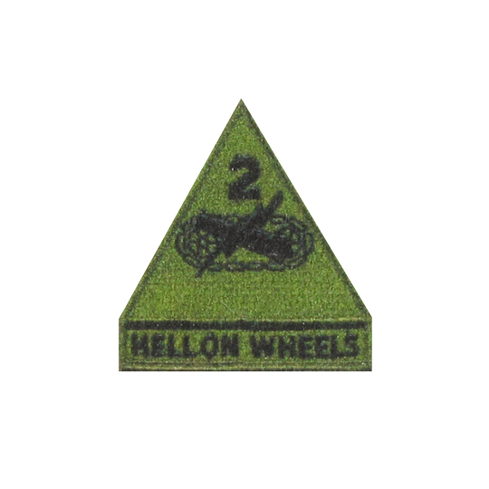 Wwii 2nd armored division patch