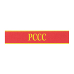 Brassard VC PCCC Fire Protection (Rouge)