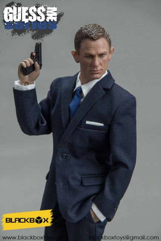 Spectre - Agent James (Blue Version)