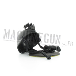 MICH Helmet with NVG (Black)