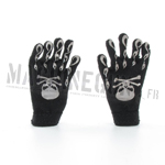 Skull Gloves (Black)