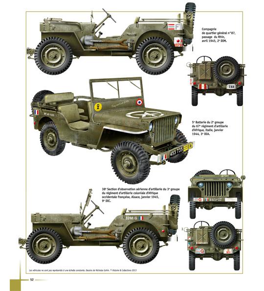 la jeep dans l 39 arm e fran aise machinegun. Black Bedroom Furniture Sets. Home Design Ideas