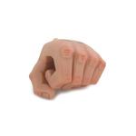 Main gauche tatouée homme européen