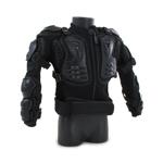 Veste de motard renforcée (Noir)