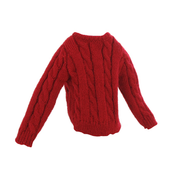 Pull taille enfant (Rouge)