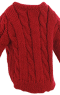 Kid Size Sweater (Red)