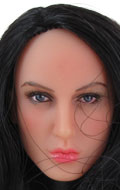 Caucasian Female Headsculpt (Brown)