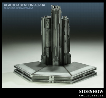Reactor Station Alpha Diorama