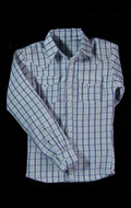 Checked Shirt (Blue)