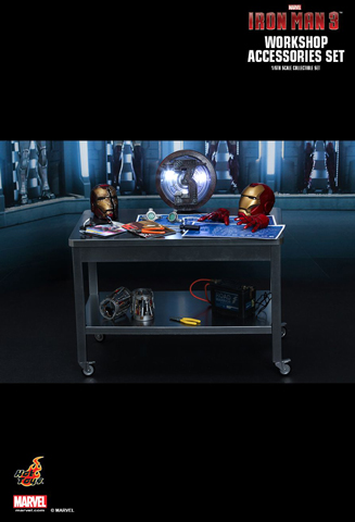 Iron Man 3 - Workshop Accessories Set