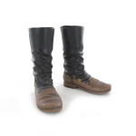 Soviet Sapogi Boots with sand grain effect